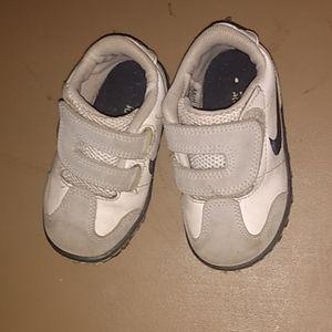 White Nike Kids Shoes
